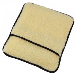 Bouillotte en laine d'agneau